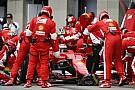 A Ferrari nagyon dühös Raikkönen elszalasztott dobója miatt, de legalább Vettel fantasztikusan ment!