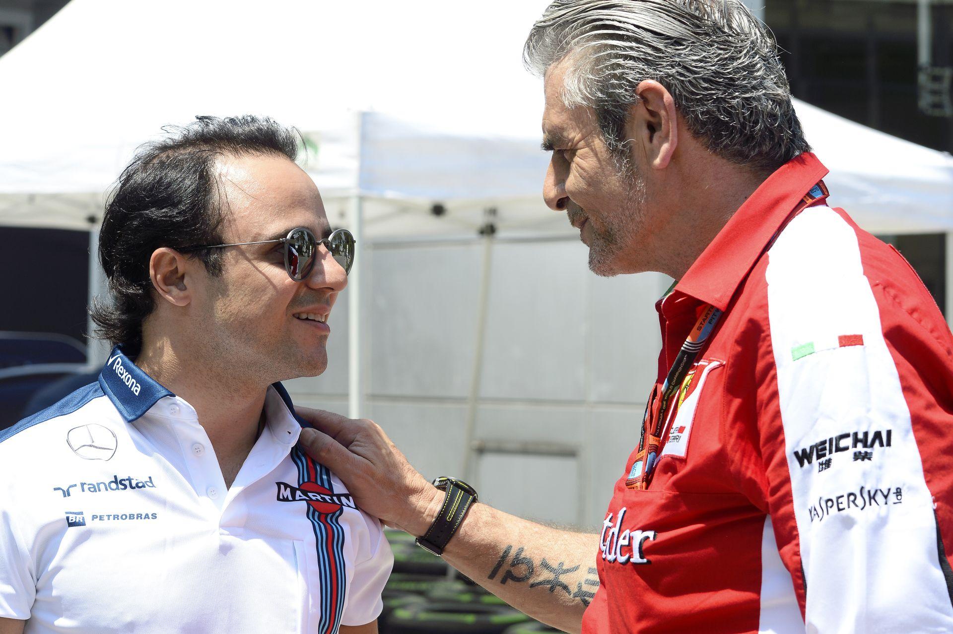 """Massa a """"ferraris incidensén"""" viccelődött a Red Bull Ringen"""