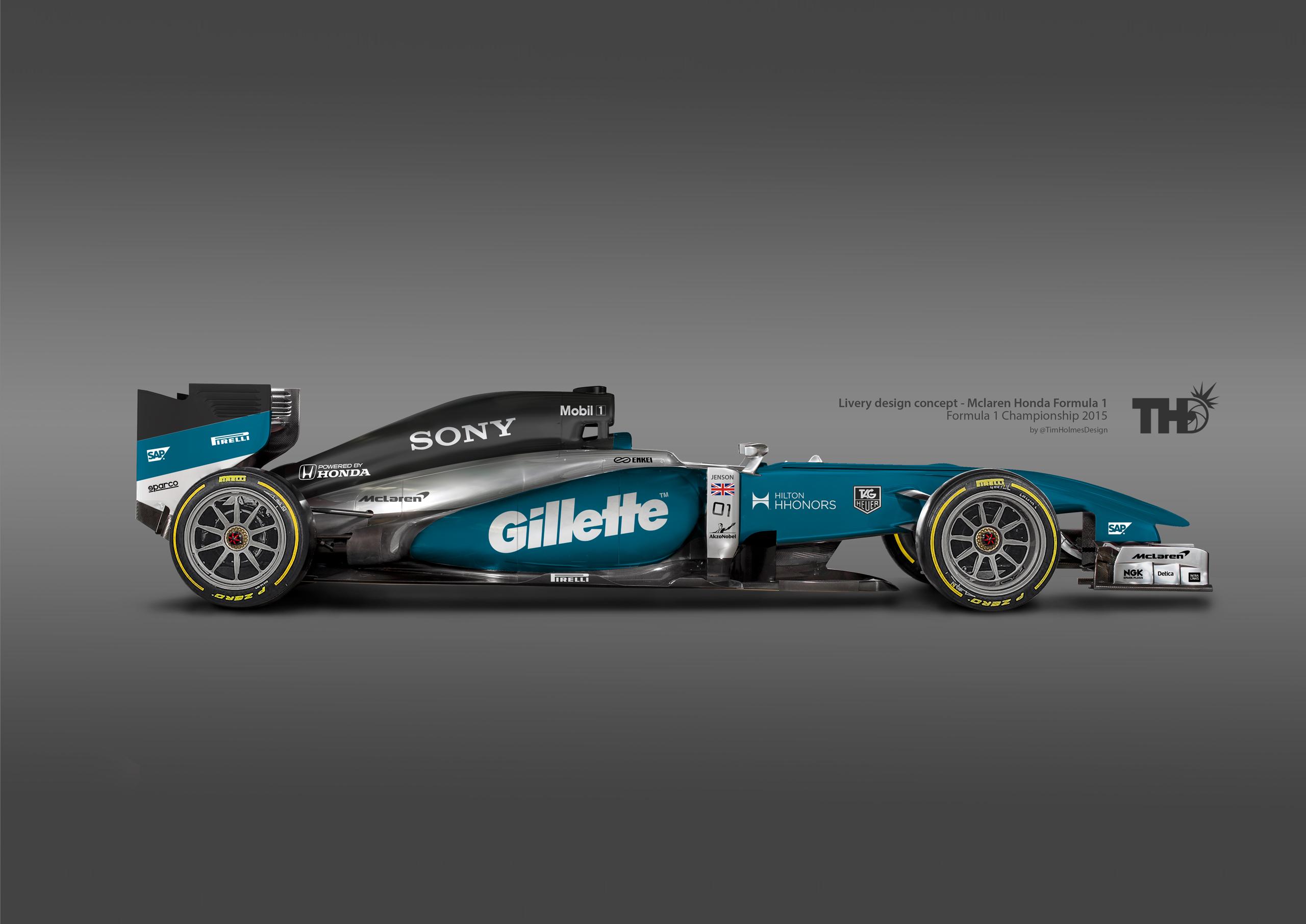 McLaren-Honda: Elképzelt festések a Forma-1-ben! Viszik a pálmát