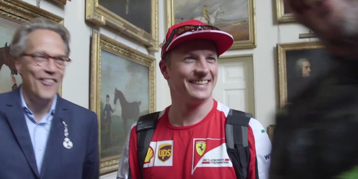 Hatalmas: Raikkönen azt sem tudja, hogy milyen Ferrarit vezetett Goodwoodban, majd mindenki nevet! Videó a jelenetről