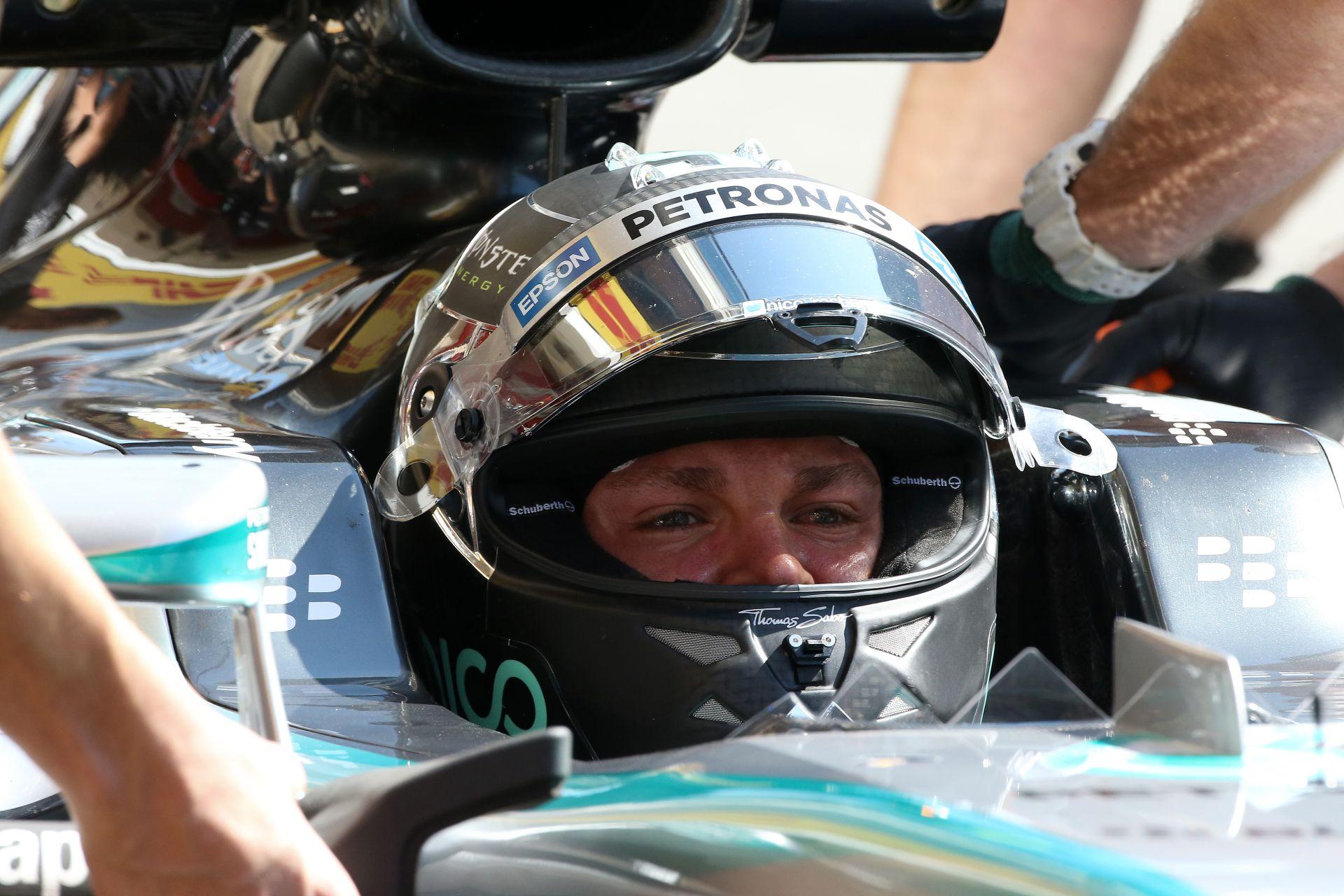 Rosberg nyerte az időmérőt Barcelonában Hamilton és Vettel előtt! Raikkönen csak 7.