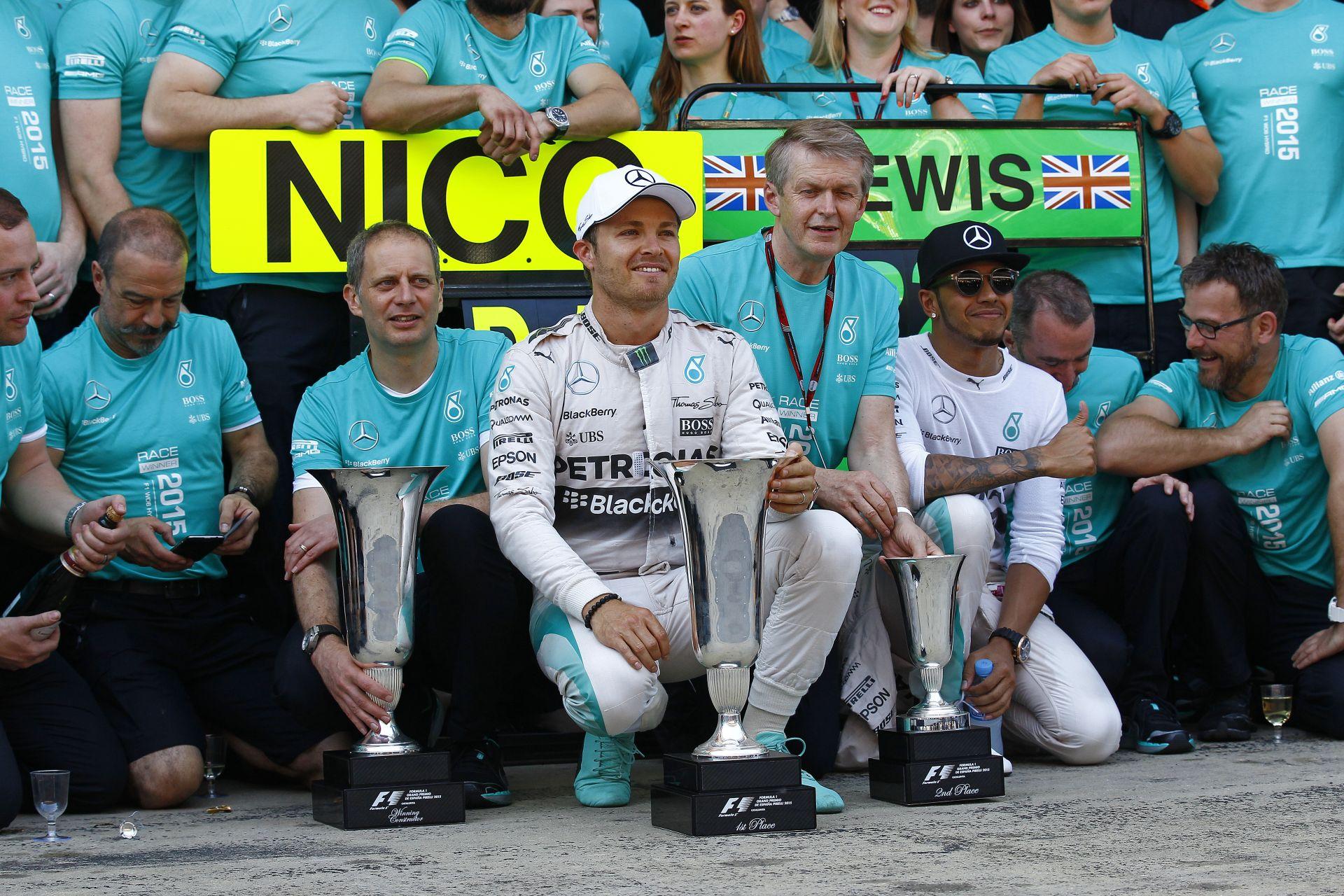 Rosberg örülne, ha Hamilton lenne a csapattársa jövőre is!
