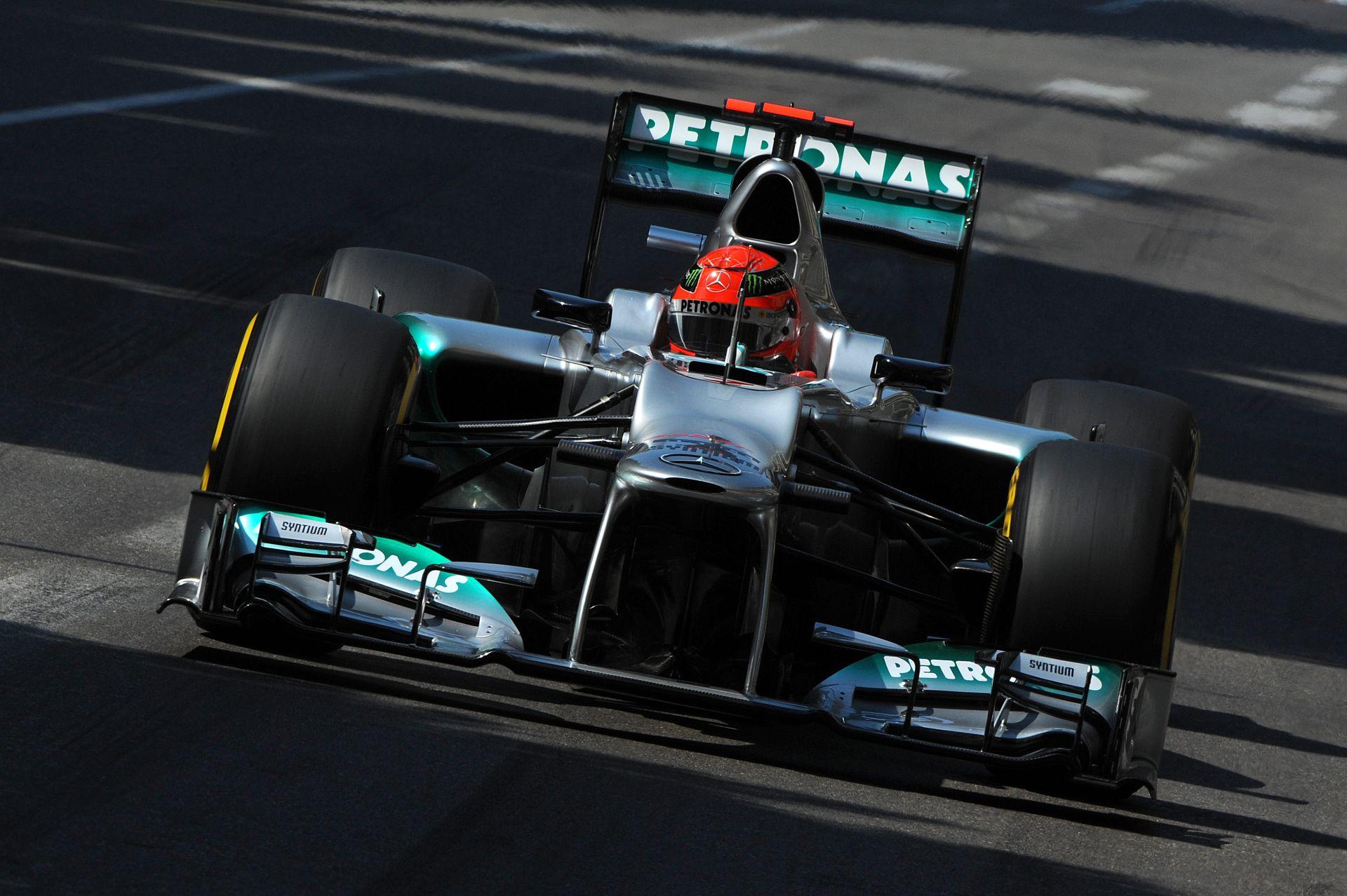 Michael Schumacher, aki csukott szemmel is körbe tudott menni Monacóban