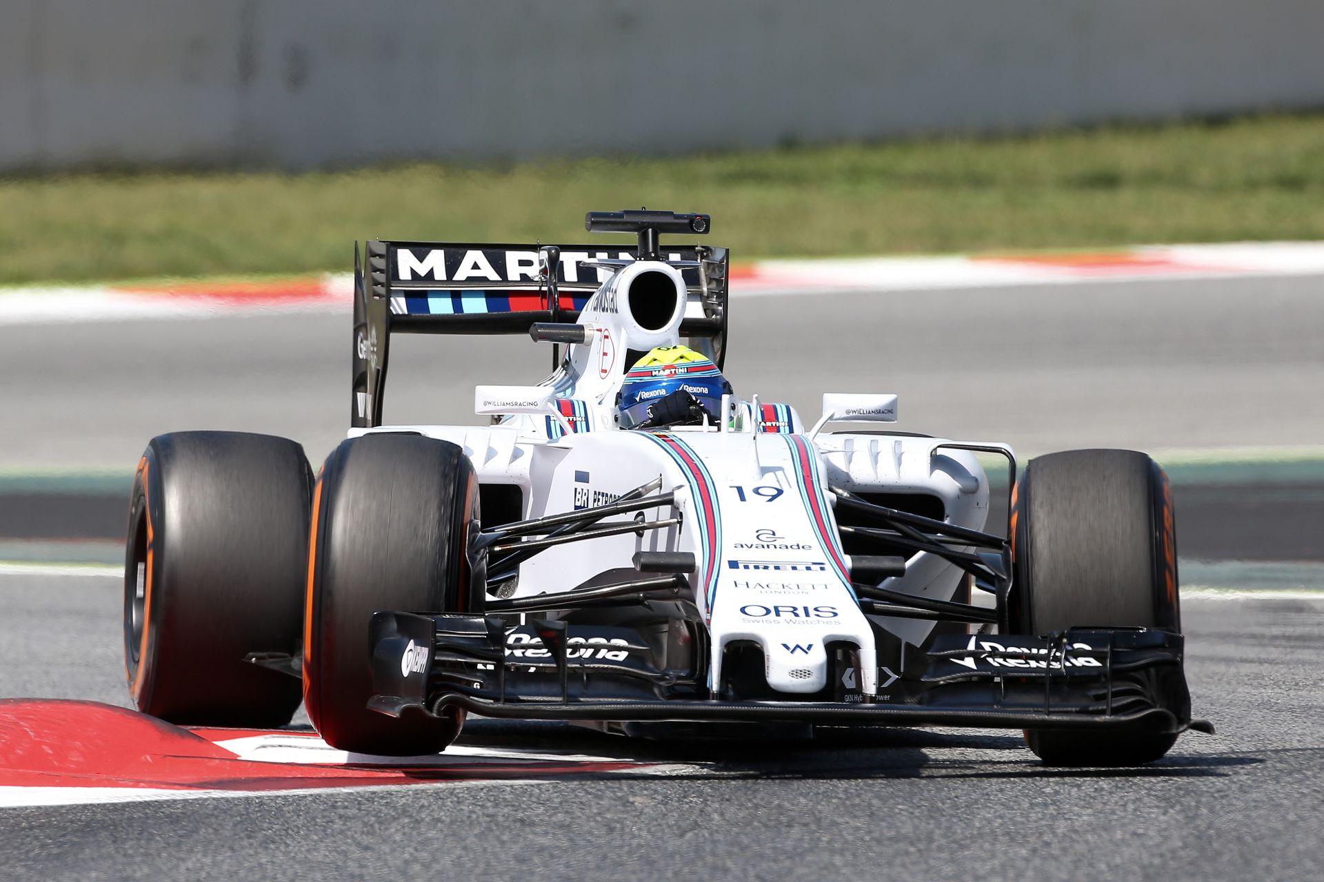 A paddockban az a hír járja, hogy a Williams lemaradt a fejlesztési versenyben
