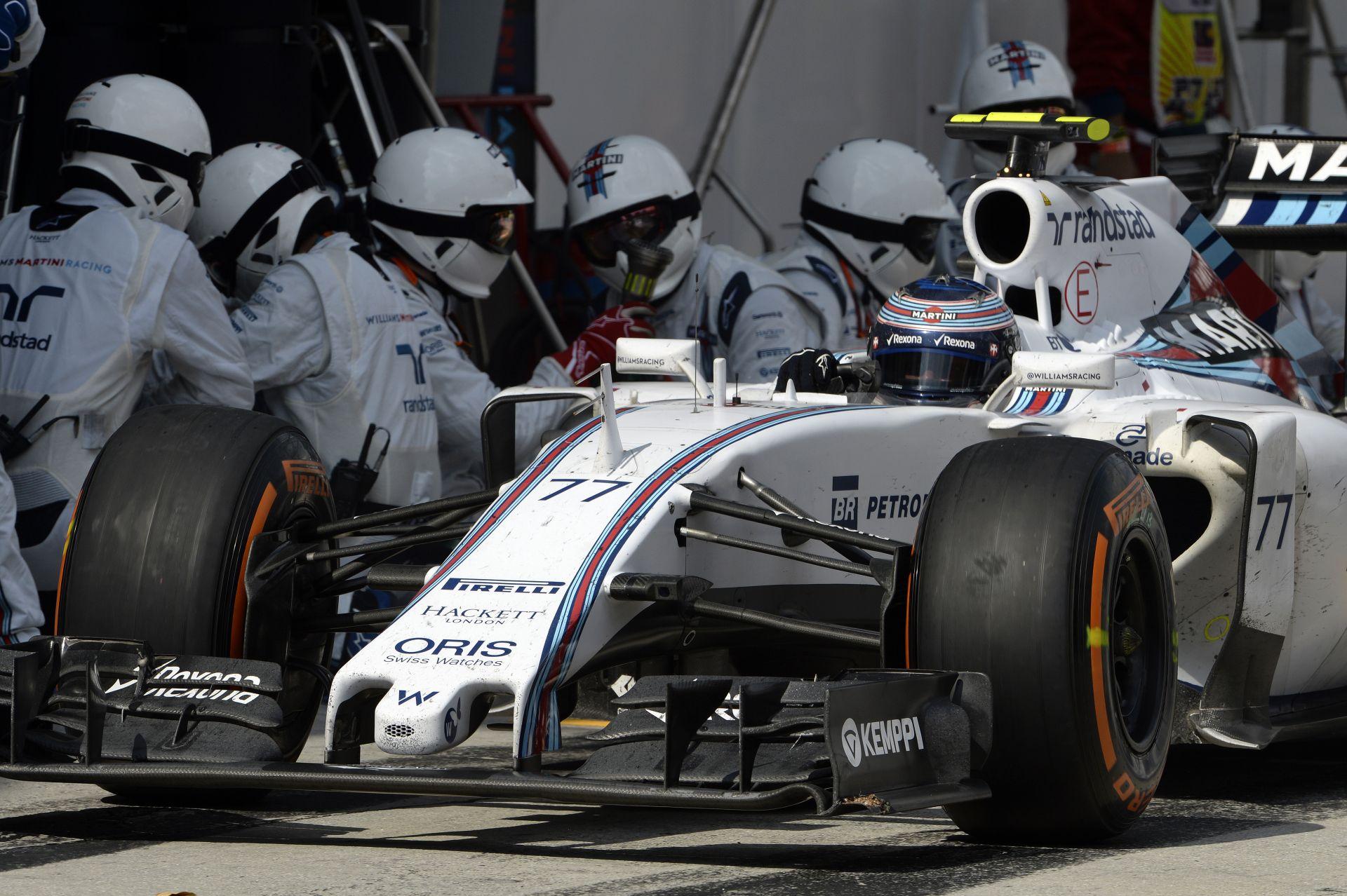Komoly bajba kerülhet a Williams: Eltűnt a versenytempó