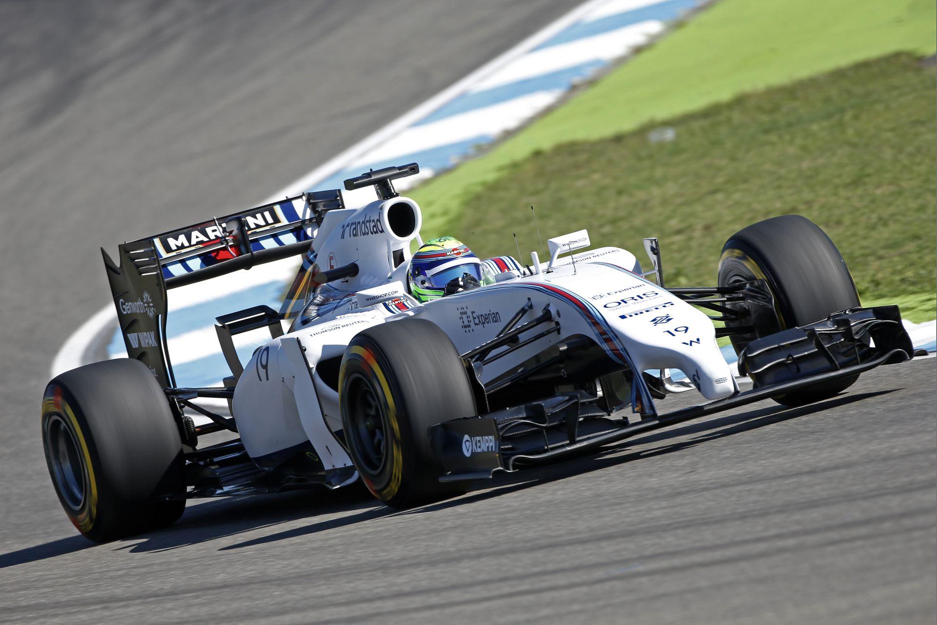 Massa: Nagyon versenyképes lehet a Williams vasárnap