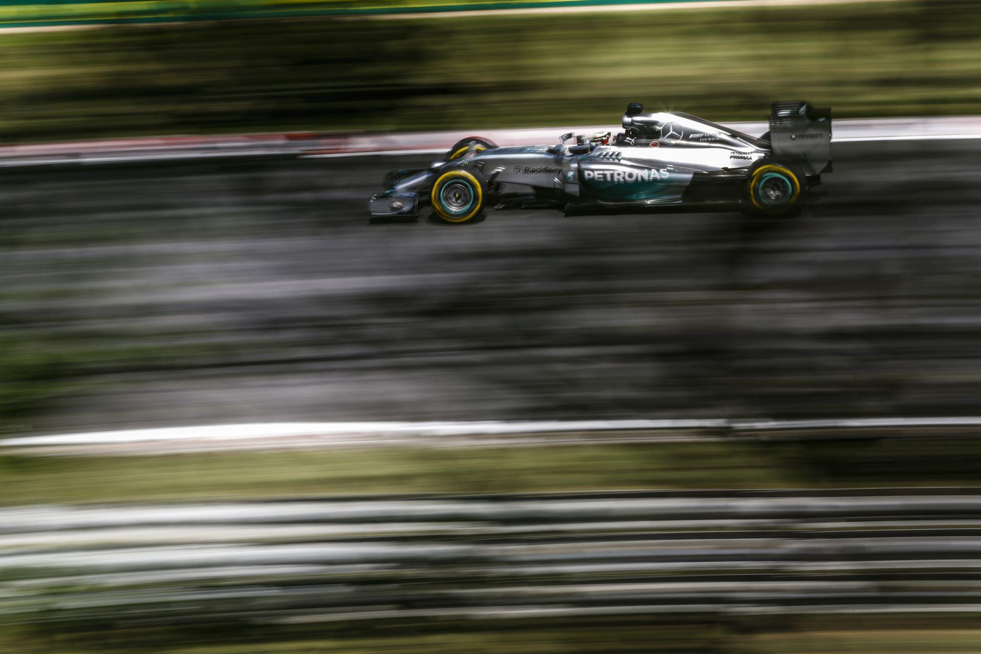 Röviden: a Mercedes a Carbon Industrie fékeit használja a Hungaroringen