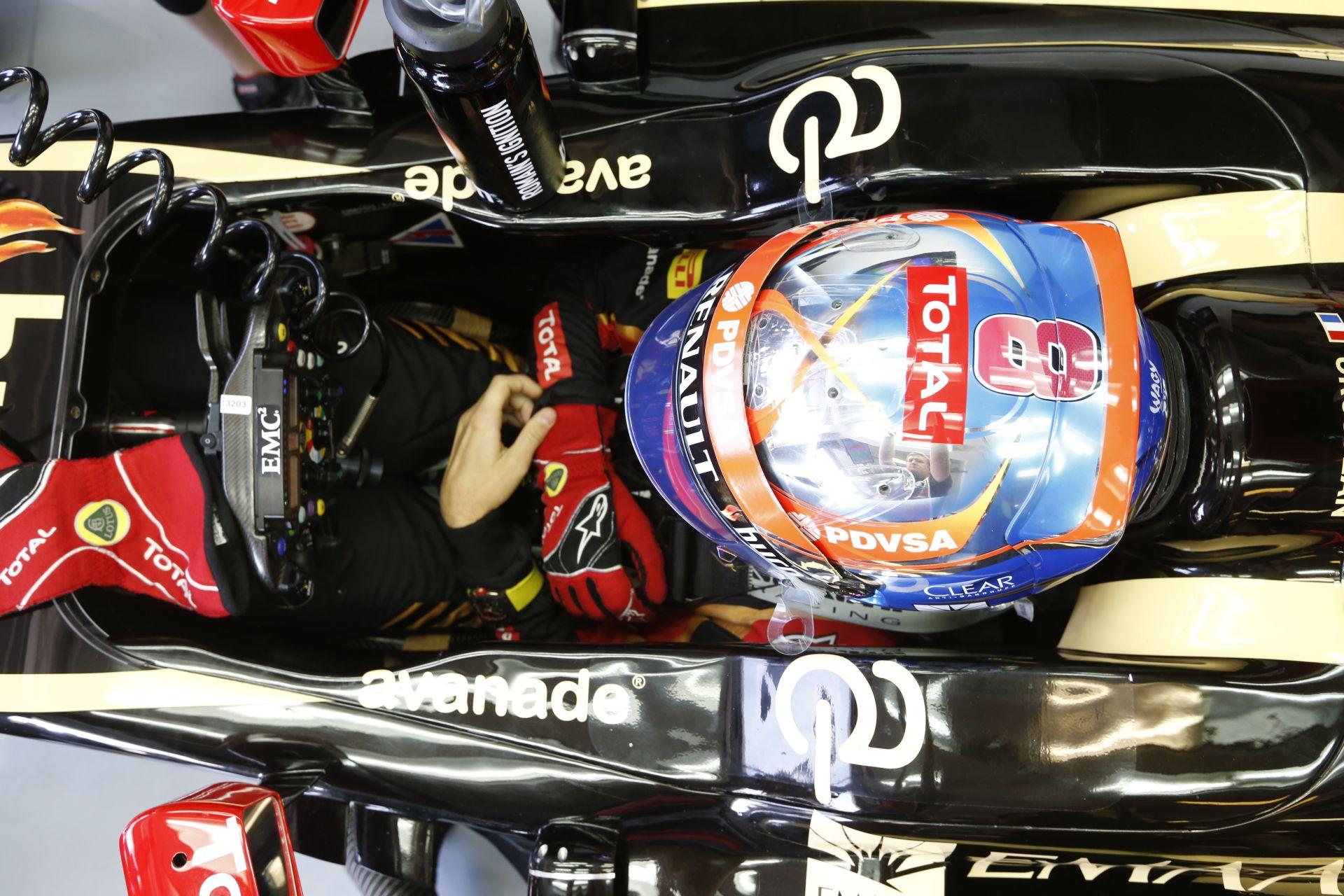 Grosjean is autót tört a Hungaroringen: A francia hibázott