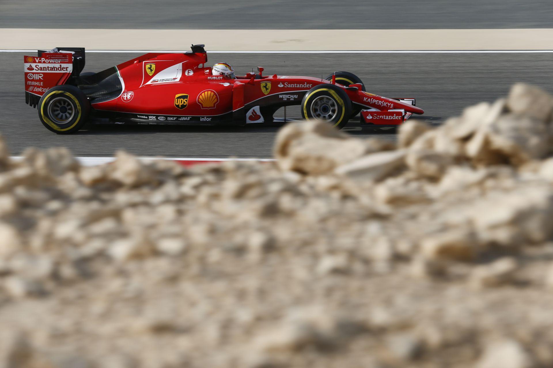 Vettel: Nagyon elégedett vagyok ezzel a második hellyel a Ferrarival!