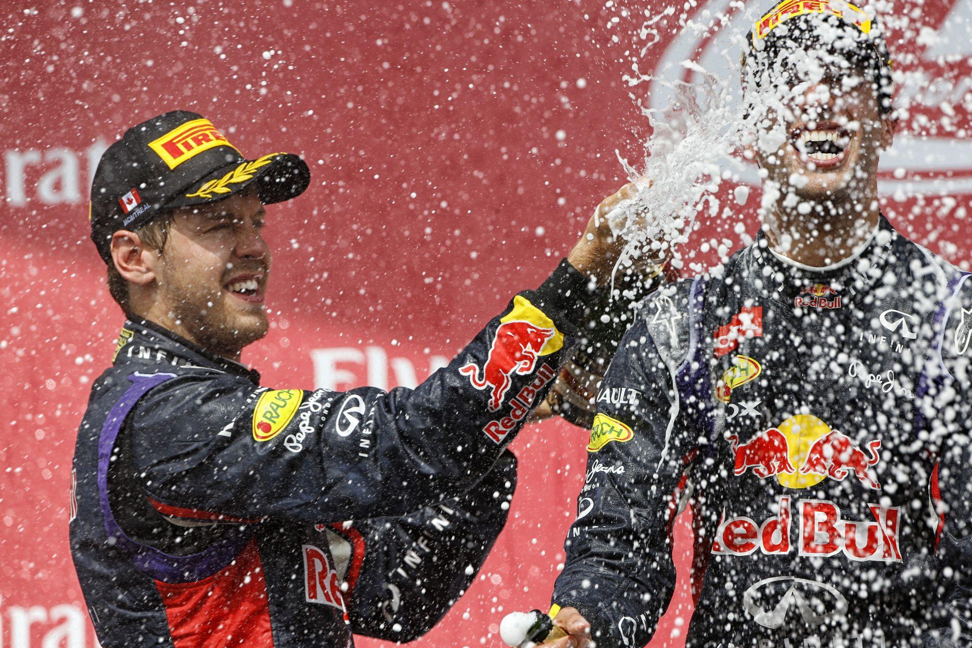 Marko: Ricciardo csak Vettel technikai gondjai miatt tud előtte lenni!