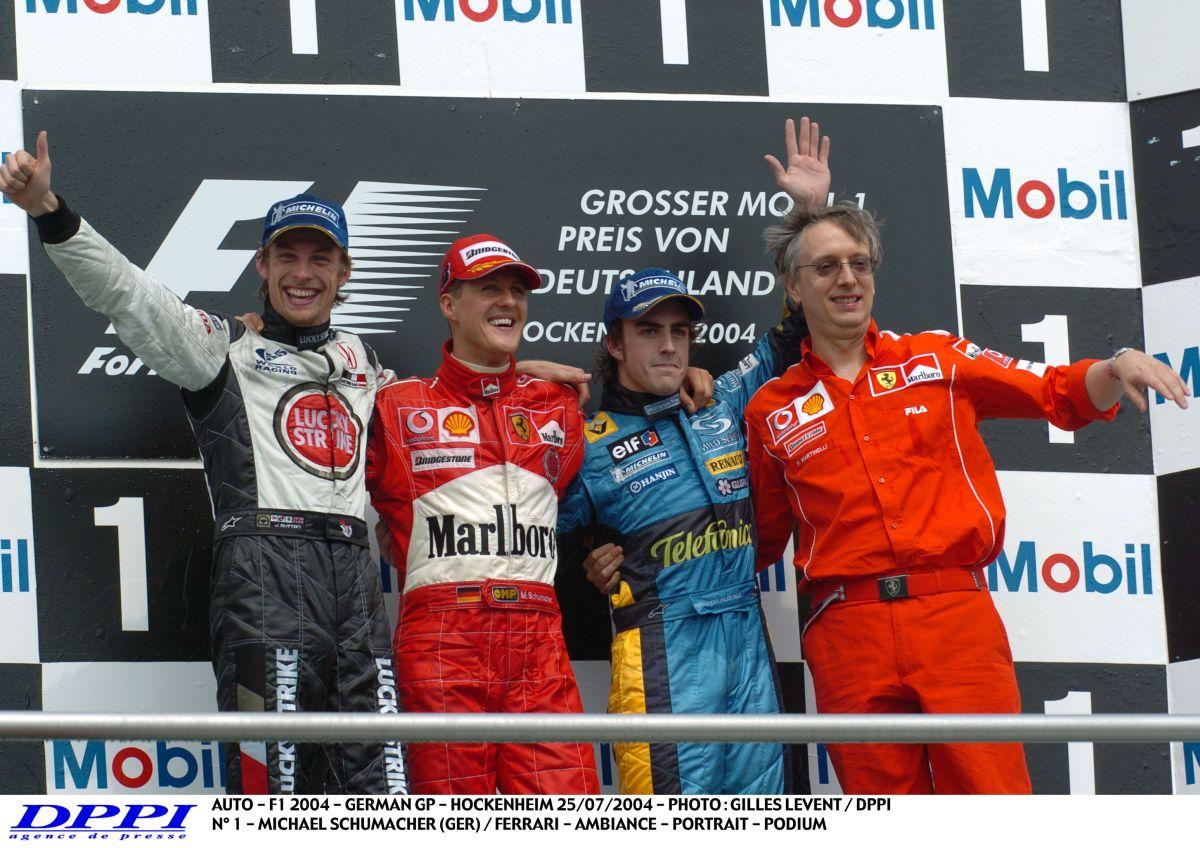 Schumacher a közös pont Alonso és Button legjobb F1-es emlékeiben