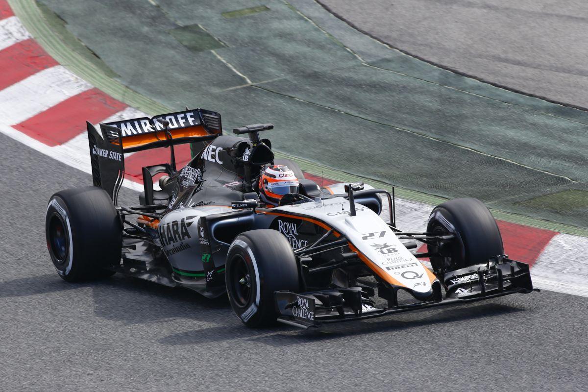 Rekordidő alatt építette meg idei autóját a Force India: ez még közel sem a végleges VJM08