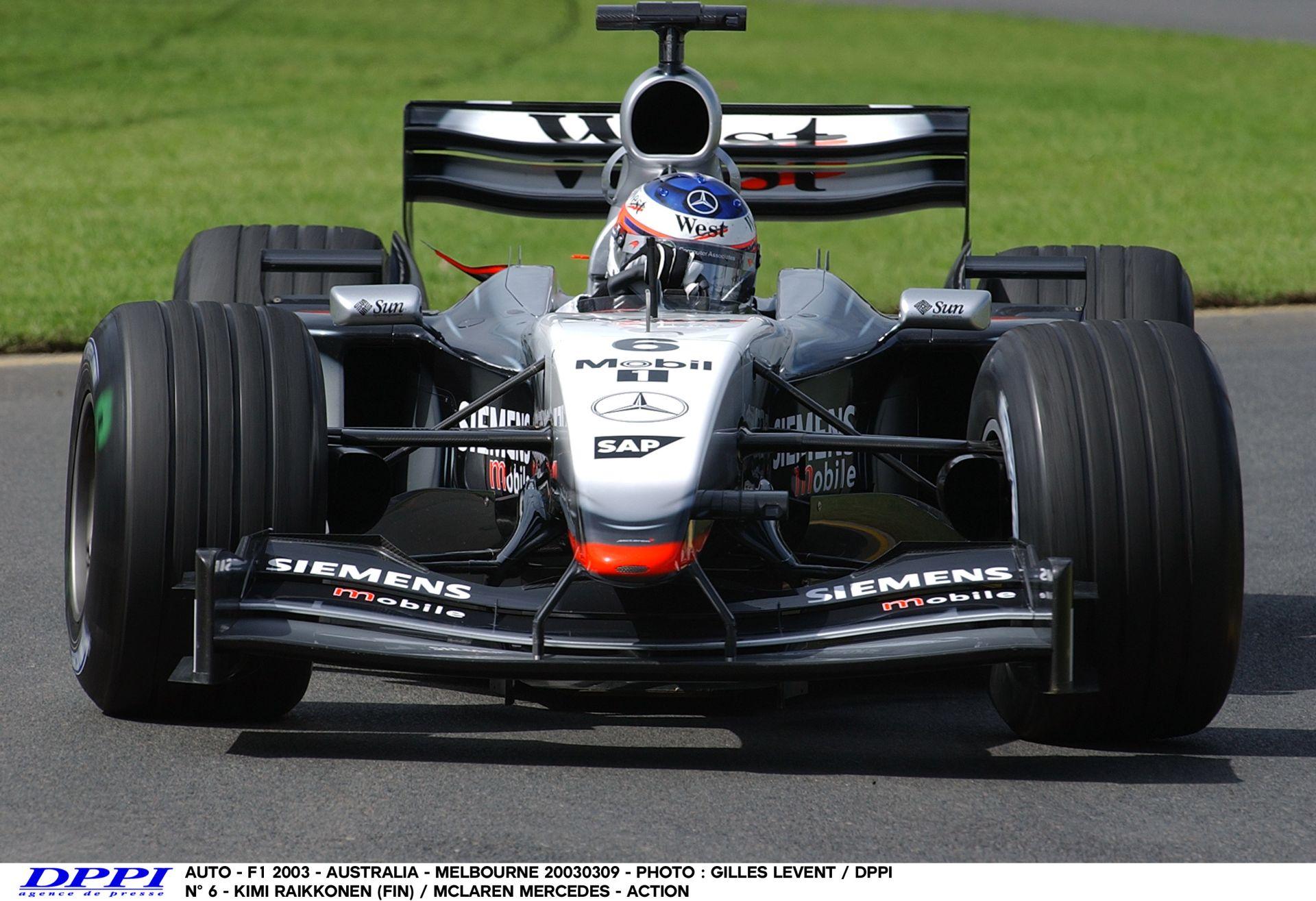 Amikor még pokolian imádtuk az F1-et: Raikkönen, McLaren, Ausztrália