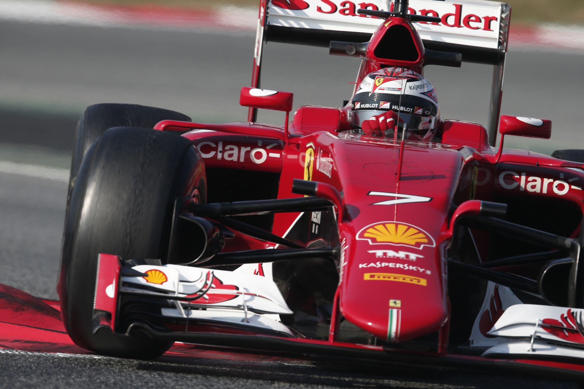 Így szól Raikkönen és Vettel új Ferrarija: Kötelező darab!
