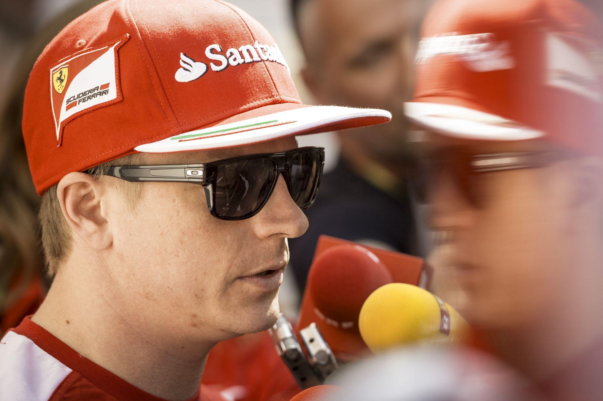 Raikkönen: Nem az élen versenyez a Ferrari, így az sem érdekel, hogy hol van Alonso!