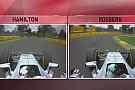 Ennyivel volt gyorsabb Hamilton Rosbergnél az időmérőn: Videós összehasonlítás