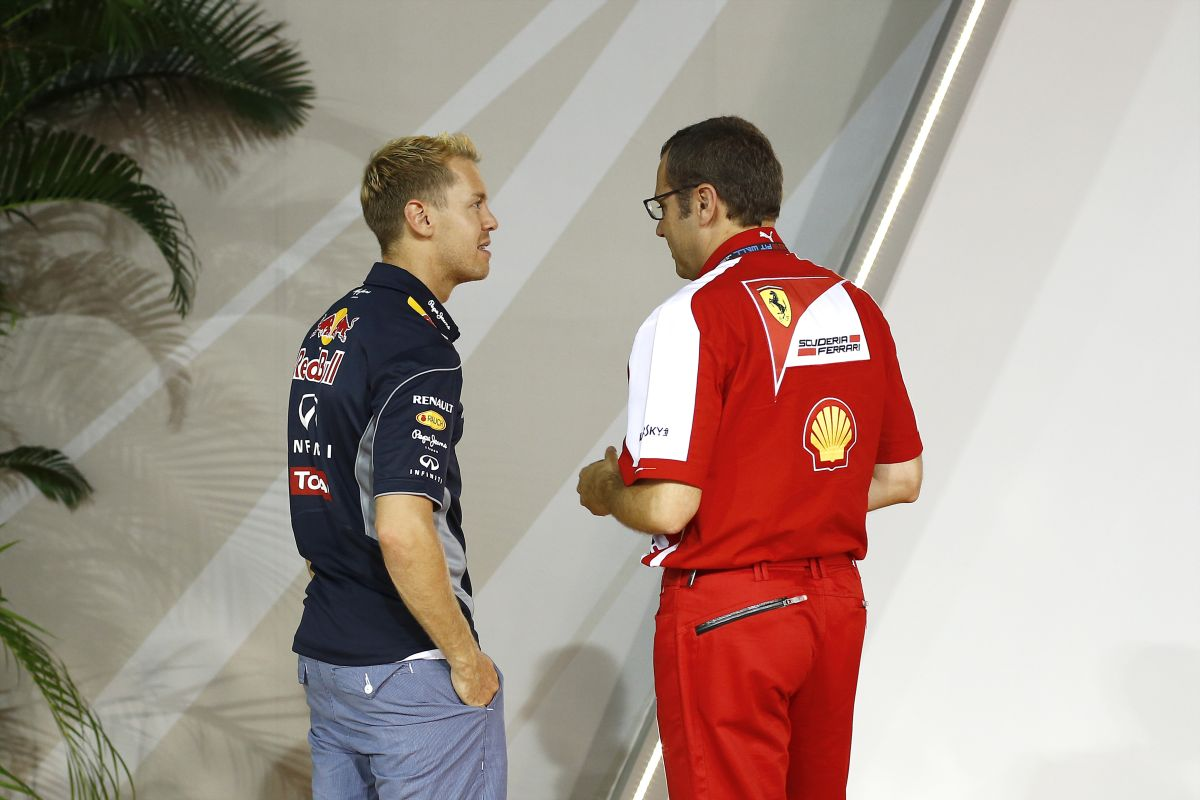 Domenicali három versenyzőt hívott fel a távozása napján: Alonsót, Räikkönent, és Vettelt