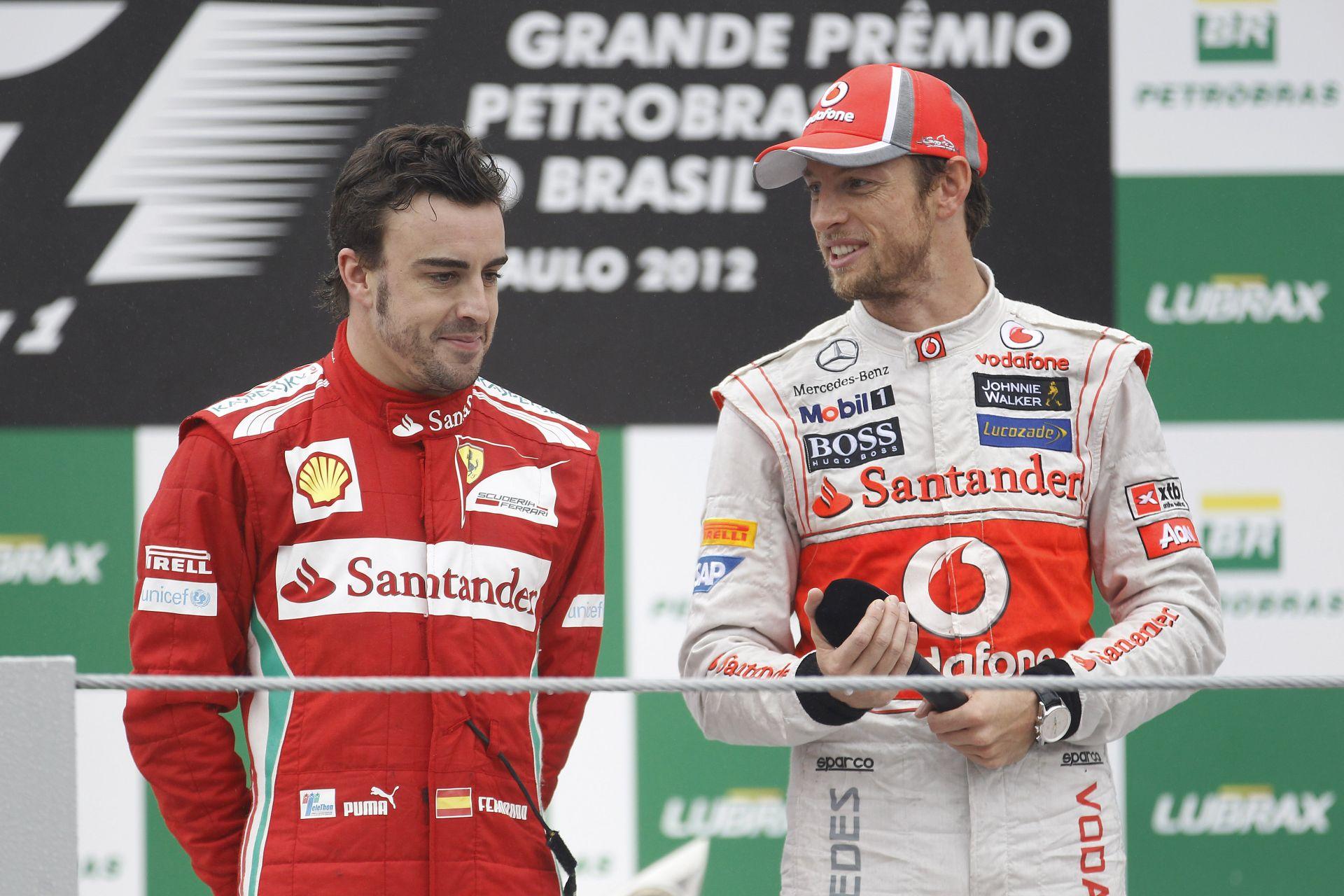 Button: Nagy kihívást jelentene számomra, ha Alonso lenne az új csapattársam
