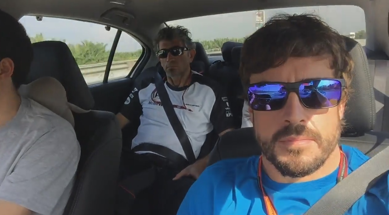 Alonso nagyon kemény: Szelfis videót készített magáról, de meg sem szólal!