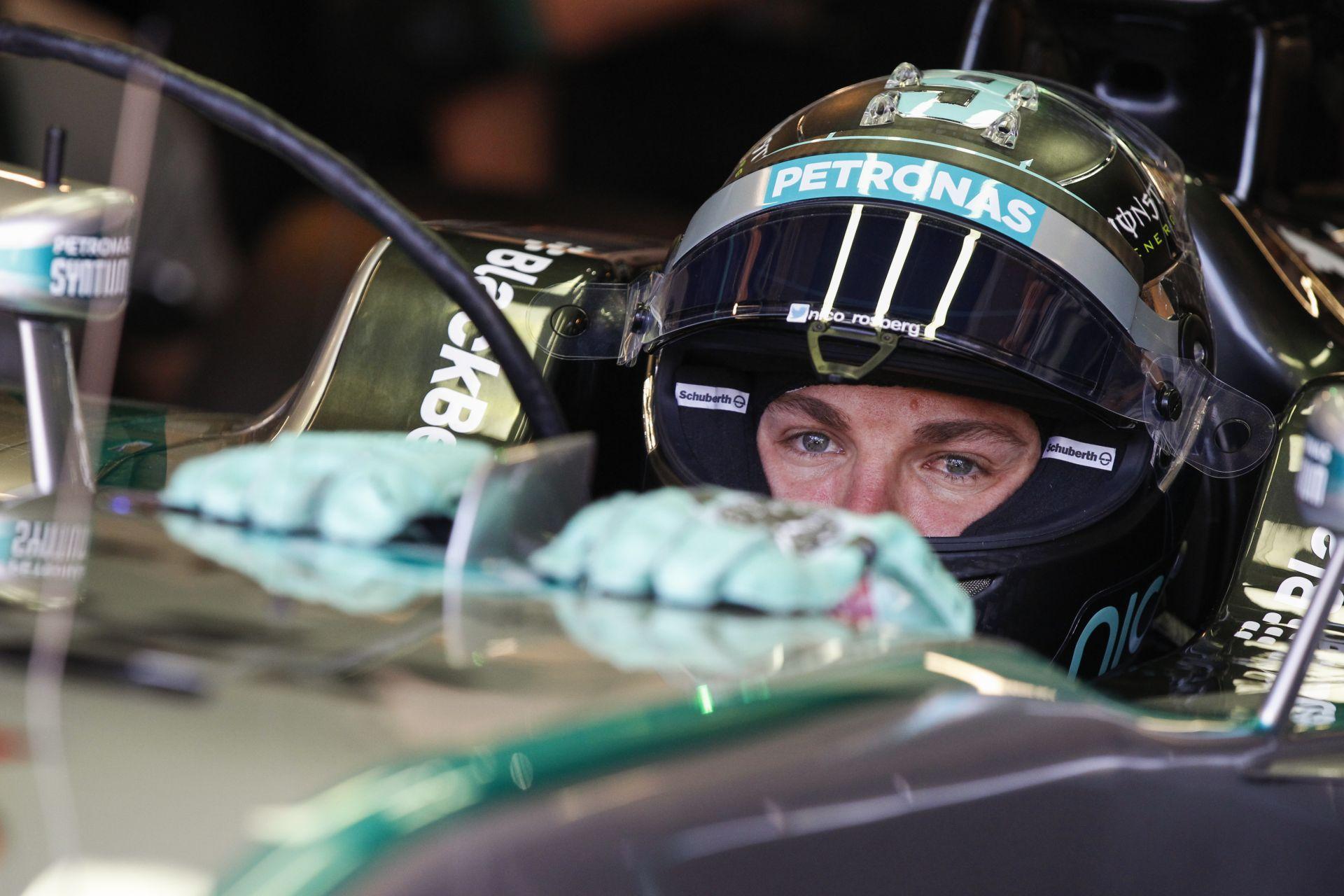 Videón Rosberg rajtelsőségét érő köre Monacóból
