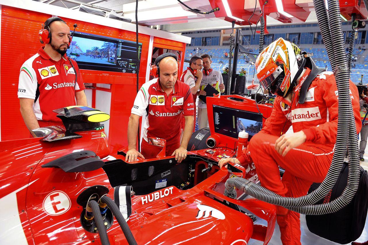A Force India is más liga a Ferrari számára: Raikkönen nem tud válaszolni