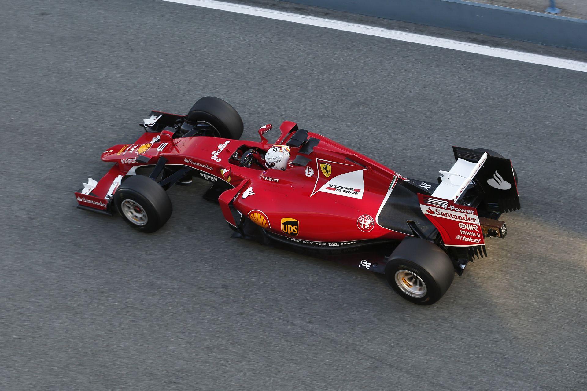 Nagyon jól fogyaszt Vettel és Raikkönen új autója, az SF15-T