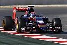 Rengeteg megtett kör a Toro Rosso neve mellett Barcelonában
