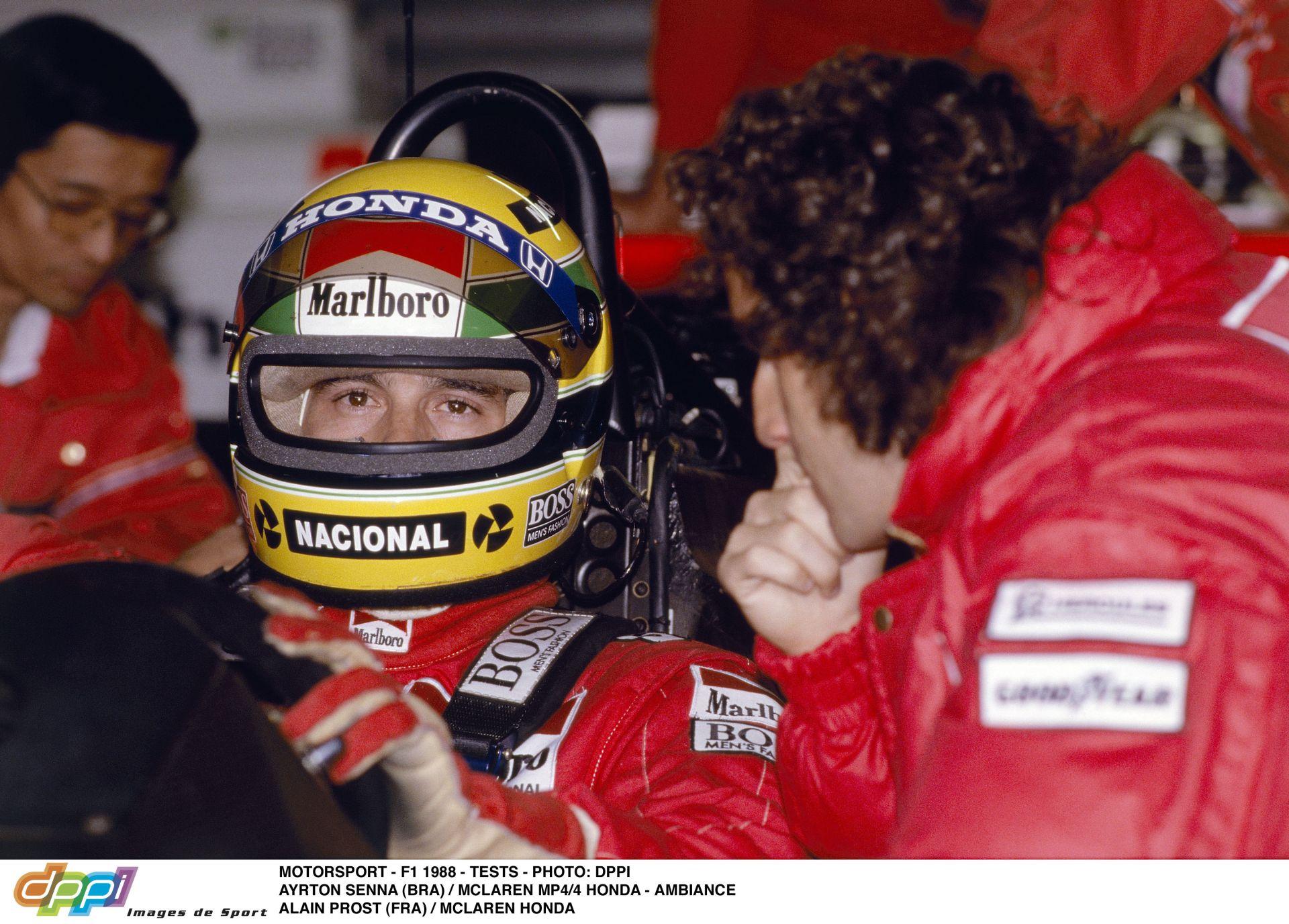 Alain Prost és Ayrton Senna: Egymás ellenségei voltak