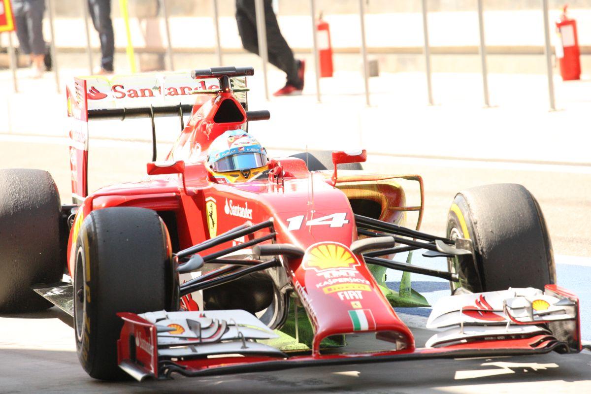 Alonso és Raikkönen még semmit sem mutatott az új Ferrarival