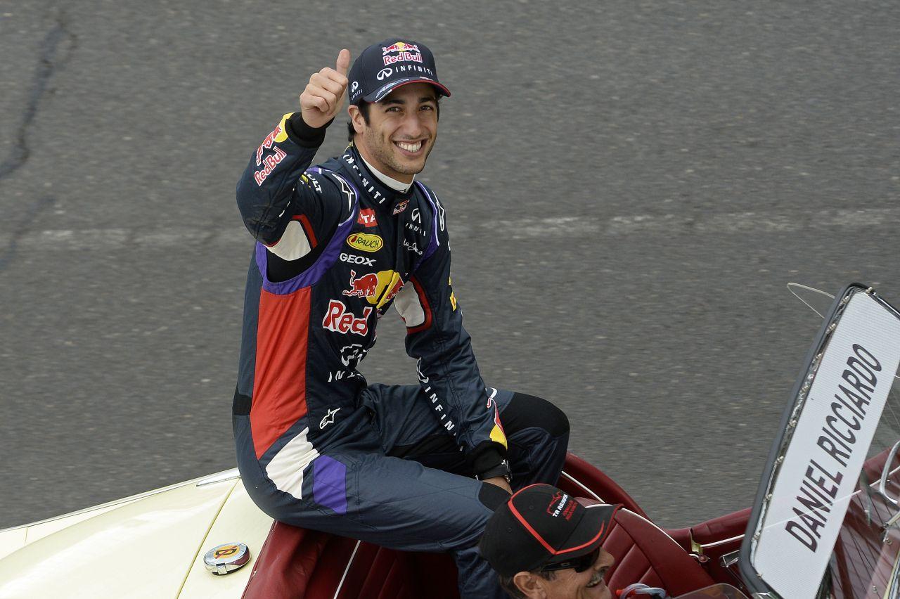 Webber: nem volt szuperizgalmas a futam, de Daniel briliáns volt