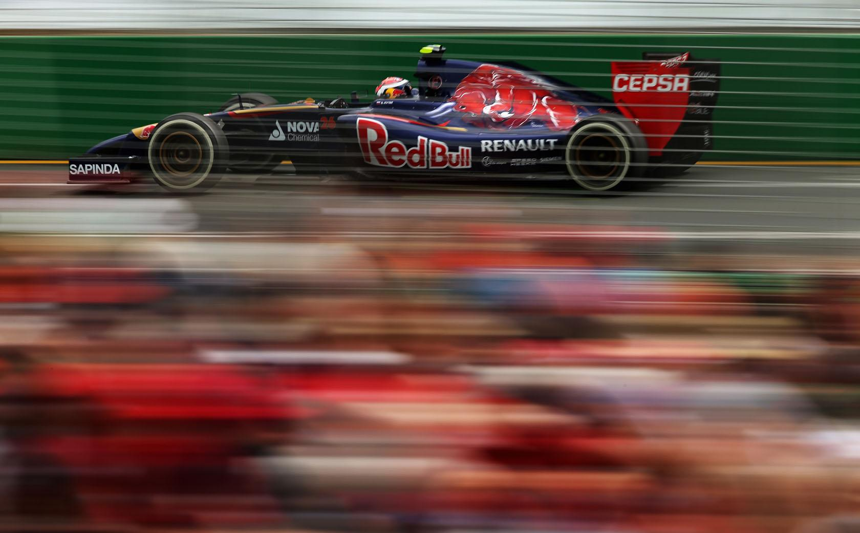 F1 2014: Így szól a Toro Rosso Kvyat alatt