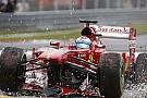 Maláj Nagydíj 2013: Alonso nagyon szerencsétlen balesete