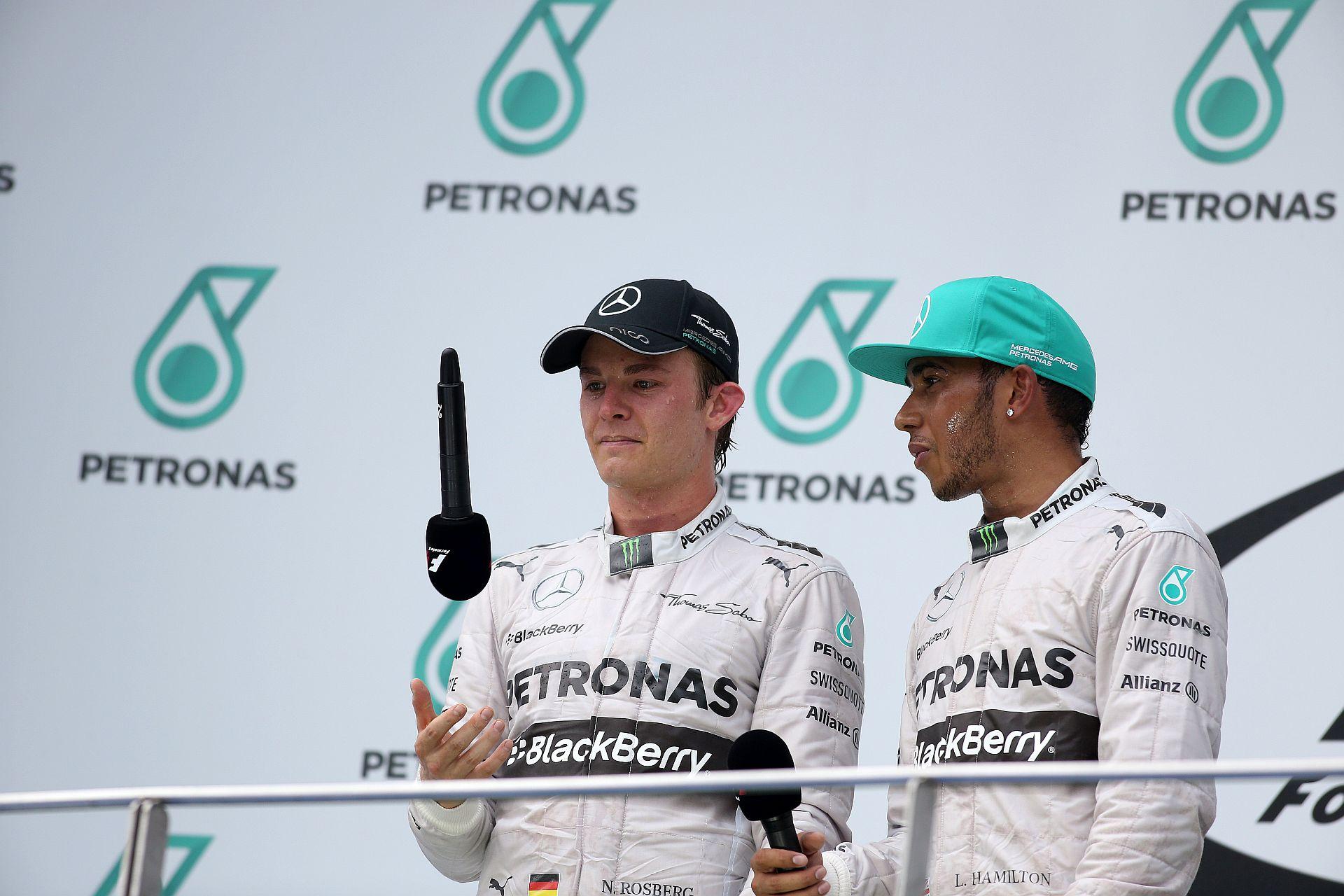 Rosberg: Tudjuk, hogy ki az a Lewis Hamilton