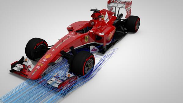 Újabb variáció 2014-es Ferrarira: eddig ez a legkifinomultabb F1-es terv