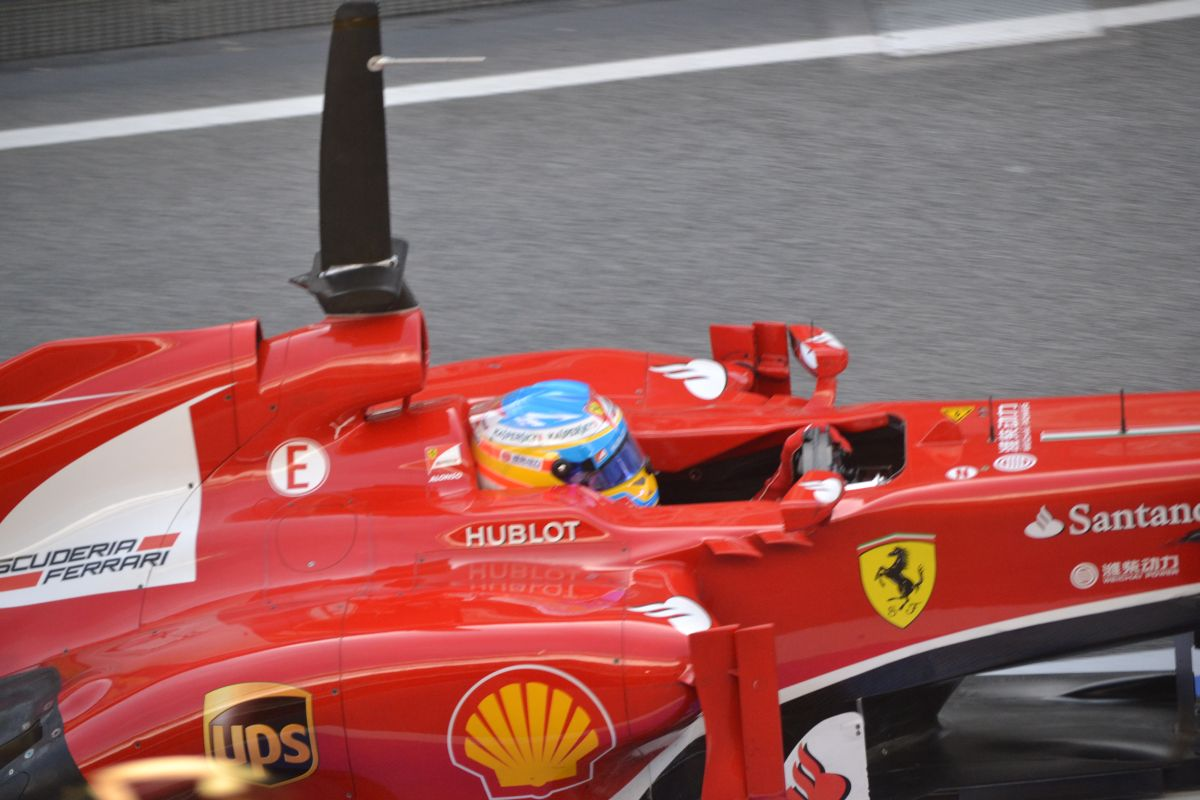 """Spanyol Nagydíj 2013: Fernando Alonso és a """"repülő"""" Ferrari"""