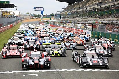 Alle 60 Autos für das 24-Stunden-Rennen in Le Mans 2016