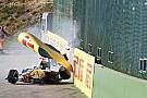 GP3 Groteszk baleset a GP3-ban: