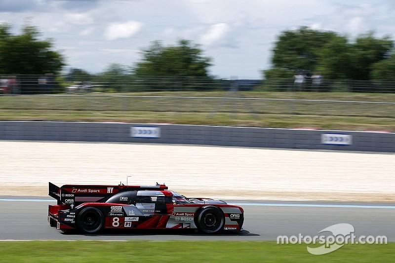 Audi lejos de la pole pero el más veloz en Le Mans
