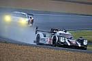 Bajo lluvia, Porsche mantiene la pole position