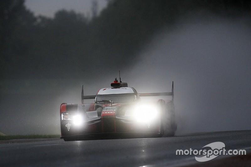Audi encaró las calificación como preparativo para la carrera