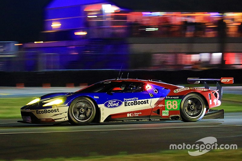 ル マン24時間 フォードgtとフェラーリに性能調整