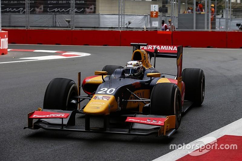 GP2 Баку: перша гонка