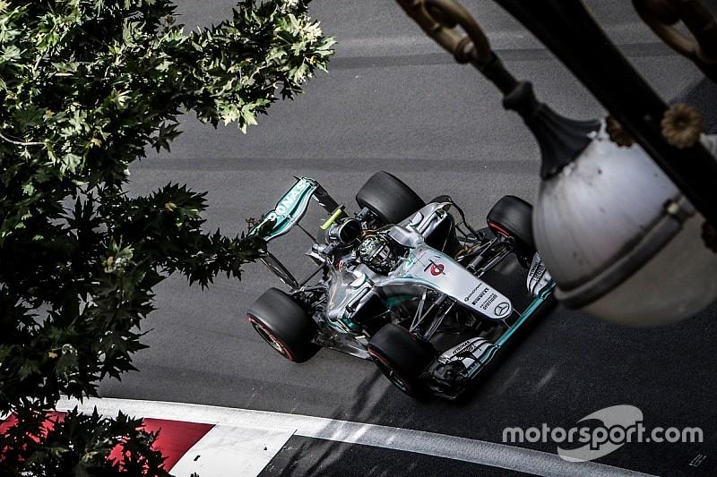 Rosberg in pole a Baku, Hamilton a muro e Ricciardo in prima fila!