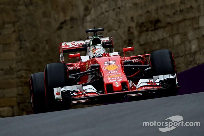 """Vettel: """"Estaría más enfadado si fuera cuarto"""""""