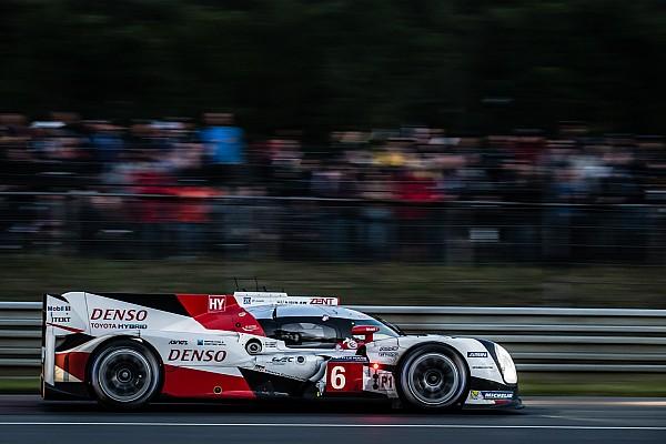 Toyota manda en Le Mans después de ocho horas