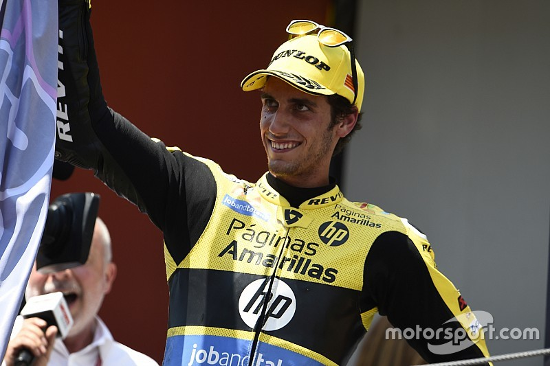 Alex Rins promoveert met Suzuki naar MotoGP