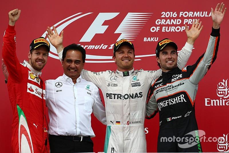 F.1: ecco la classifica del campionato mondiale piloti