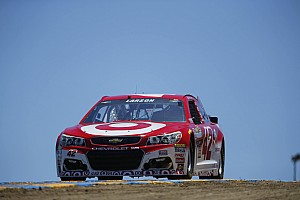 NASCAR Cup Reporte de prácticas Ganassi comanda el inicio de actividad en Sonoma