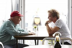 Formule 1 Actualités Lauda assure que Rosberg va prolonger de deux ans