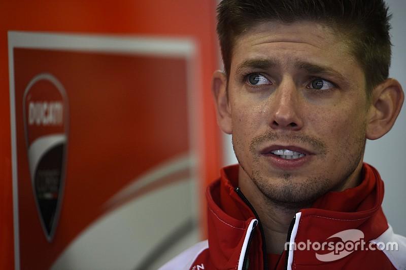 Stoner maakt Ducati MotoGP testrentree op Misano